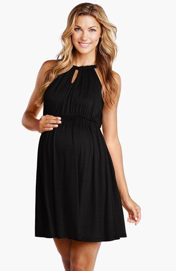 Maternal America Halter Maternity Dress available at #Nordstrom