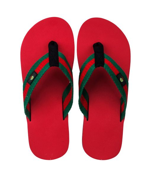Red-Bellied Snake - Eco Thongs Made with Natural Rubber and Gives Back to KIVA