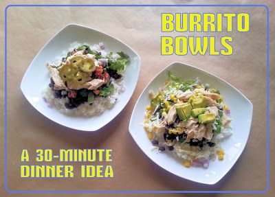A Journey of O's and A's with Blood Type and Diet: Burrito Bowls