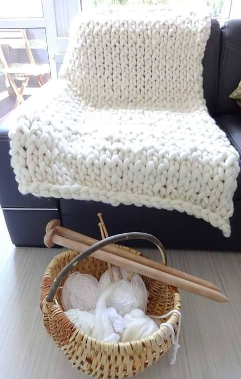 Duże druty / Big knitting needles - Aprideco