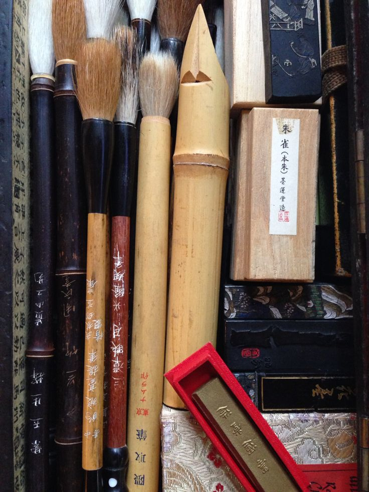 Calligraphy tools, by Norma K. Dansby