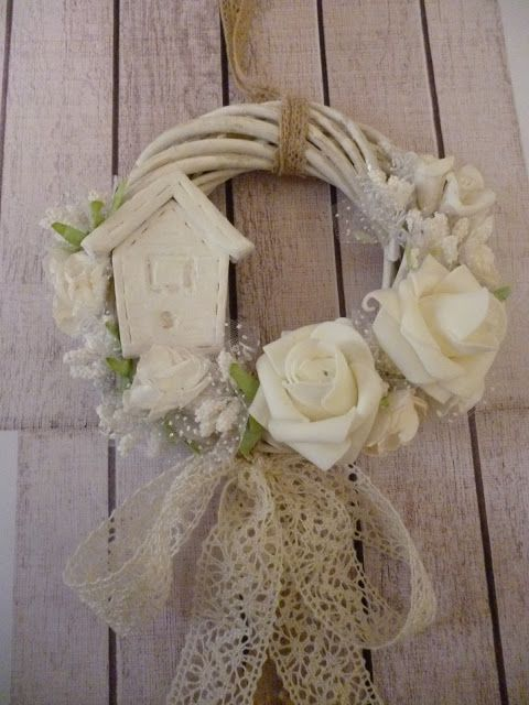 Irene & Nicki Crafts:             Spring is Here Wreath!  ...