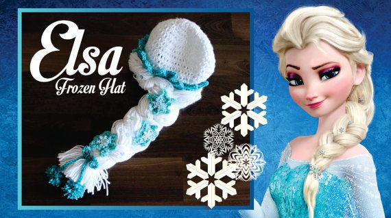 Crochet Elsa Hair : ... Pinterest Frozen Crochet, Frozen Crochet Hat and Elsa Frozen