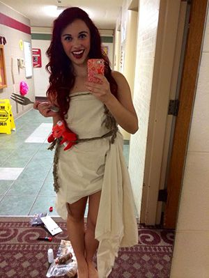 Ariel from The Little Mermaid the best costume ever