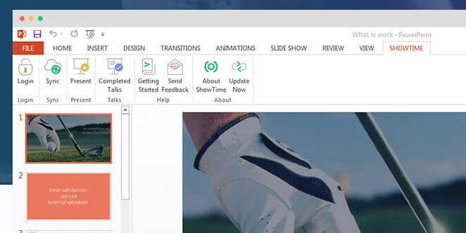 """Dla wszystkich prezenterów nowy dodatek do PowerPointa - Zoho  ShowTime Plugin. Nowe funkcje wzbogacające PowerPointa:  - komentarze na żywo przez oglądających,  - możliwość """"like'owania poszczególnych slajdów  - Q&A z sali. Prezenter, korzystając z telefonu do przewijania slajdów może przywoływać pytania na ekran ( ze zdjęcięm pytającego :) ) i odpowiadać na żywo na pytania z sali.  - Raporty - czas spędzony na poszczególnych slajdach, zaangażowanie oglądających itp…"""