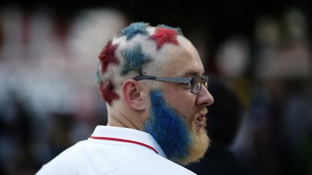 Nothing Says Freedom Like The American Flag Flying High In The Air But What About American Flag Hair Art Check Beard Gifts Hair Makeup Cool American Flag