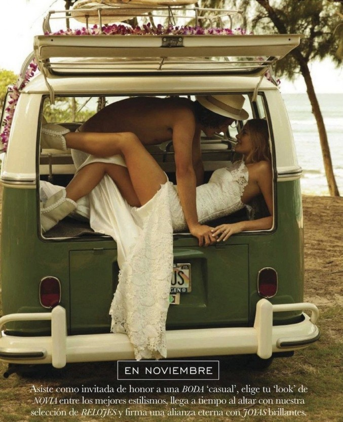 After we get married, let's rent a VW minivan and tour a country, a continent…