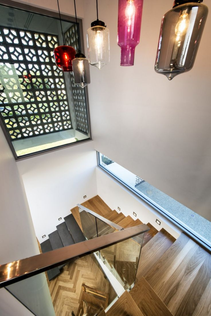 65 best niche modern at home images on pinterest architecture a modern home in australia features a colorful array of our pendants read and see