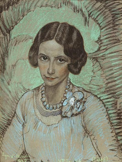 obraz Portret Izabelli Drobnik - Stanisław Ignacy Witkiewicz, Witkacy