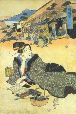 藤川宿 : 【画像集】浮世絵の美人画いろいろ - NAVER まとめ