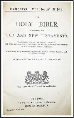 1906-Nonpareil-Teachers-Holy-Bible-15-000-Copies-Ever-Printed