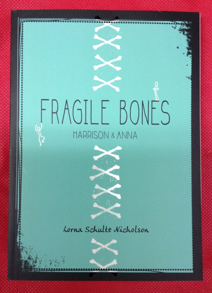 Fragile Bones, Lorna Schultz Nicholson. Meet Harrison & Anna. Harrison is a 15 year0old boy who can recitece every bone in the skeletal system when anxious, which he is a lot. Anna is a senior about to graduate with the world at her feet. She joins the Best Buddies club, paring students with Asperger's/Autism with a buddy, to help her med school application. And flirt with president. Told from the perspective of both Anna & Harrison.