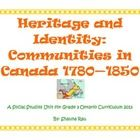 Entire grade 3 unit on heritage and identity based on the new ontario social studies curriculum $