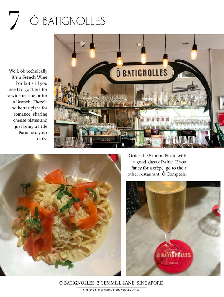 #CityGuide #Singapore #Asia #Batignolles #Paris #Pasta #Recipe #Cocktail #Bar #Expat #Travel #Blog #Mode #Fashion #Chic #Classy #Singapour