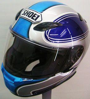 Hand Painted Shoei Moto Helmet #182 ~ Hand Painted Helmets - Design your helmet today..!!