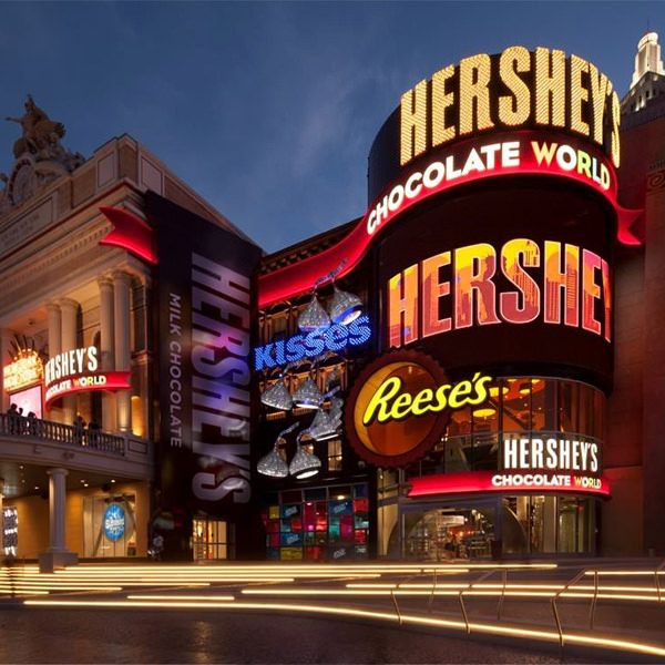 The Las Vegas Strip got a lot sweeter when the tastiest new attraction in Las Vegas, HERSHEY'S CHOCOLATE WORLD Las Vegas, opened in the New York New York Hotel & Casino this Spring.