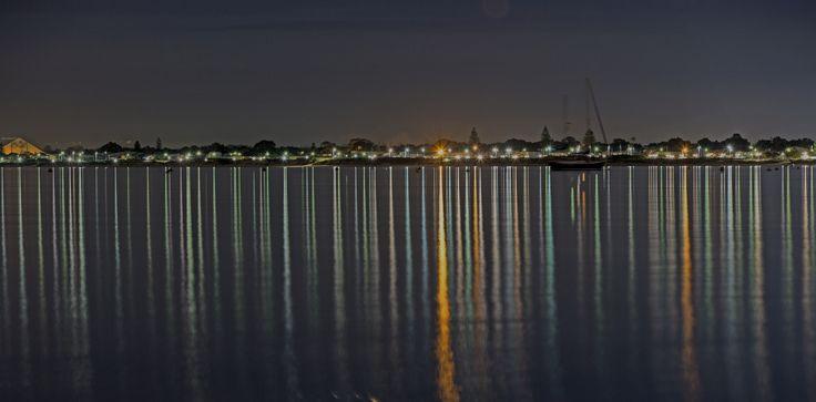 Photo taken from boat ramp looking back at Rockingham