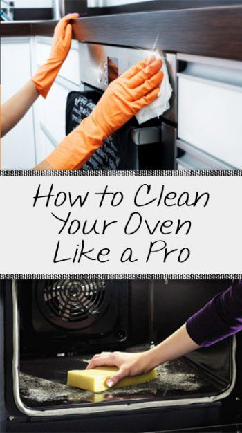 How to Clean Your Oven Like a Pro! - Organization Junkie