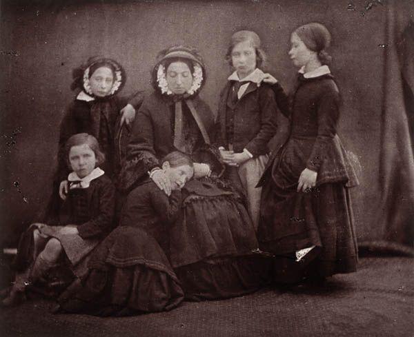 Queen Victoria with 5 of her children
