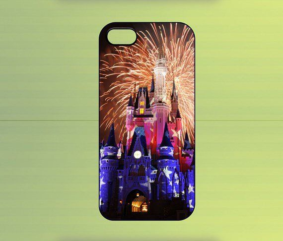 Cinderella Castle Case For iPhone 4/4S, iPhone 5/5S/5C, Samsung Galaxy S2/S3/S4, Blackberry Z10