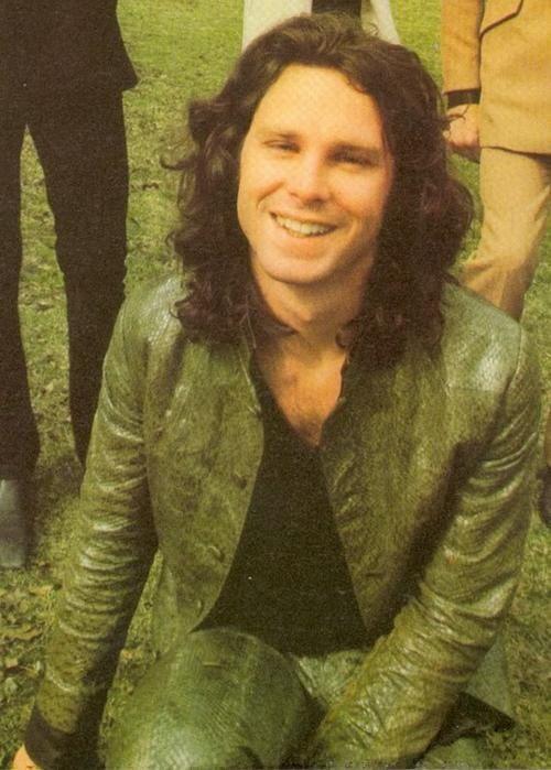Jim Morrison- such a cute shot. Love that smile. #cute #smile #gorge #Jim #love