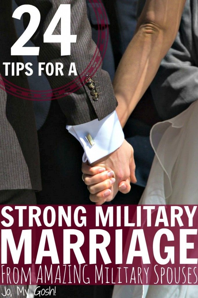 Great advice from milspouses who know how to make military relationships work!