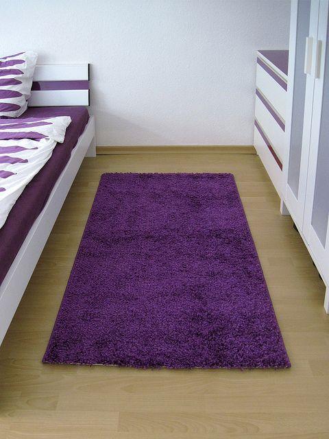 Purple Bedside Rug | Flickr   Photo Sharing!