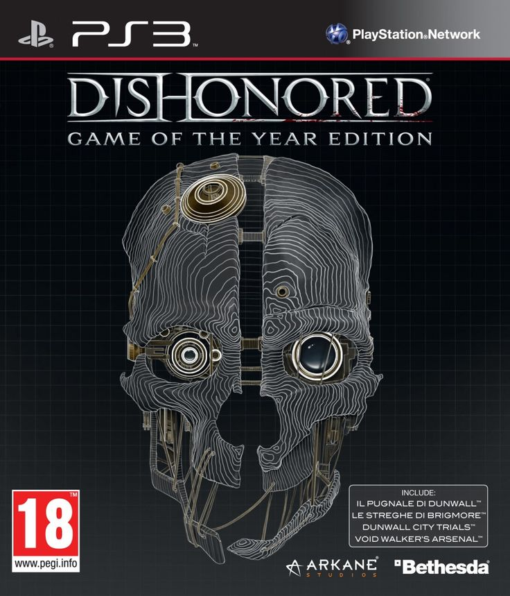 Dishonored GOTY PS3-STRiKE ~ game ps3 torrent
