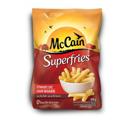 How about Superfries® Straight Cut for dinner? Visit McCain.ca to rediscover #McCainFoods favourites!