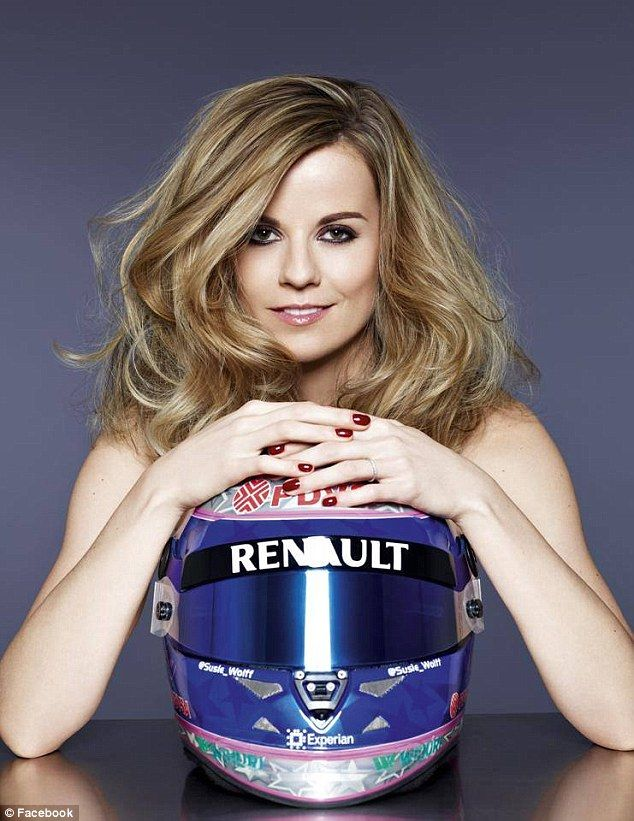 It was Wolff's 'lifetime dream' to race in F1. She said 'I gave it my all' but admitted it...