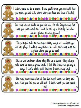 Gingerbread man hunt.pdf Printable in Documents as Gingerbread.pdf