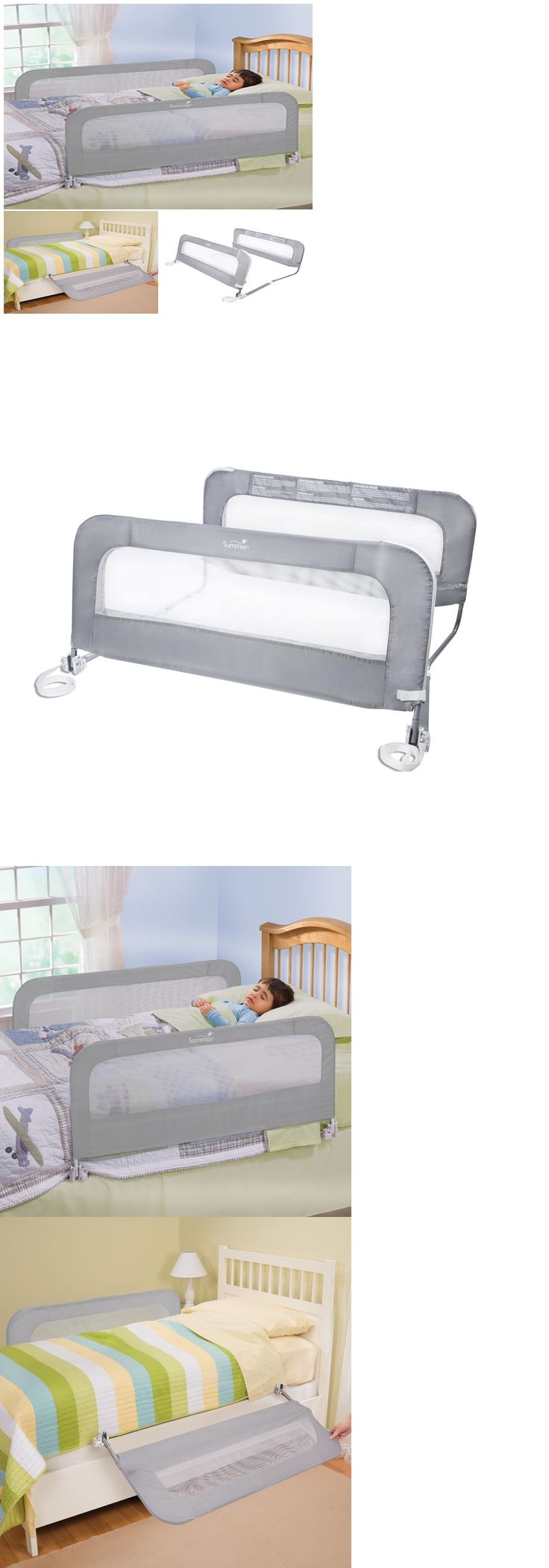 Bed Rails 162183: Summer New Double Twin Bed Safety Rails For Infant Toddlers Baby, Free Shipping -> BUY IT NOW ONLY: $40.99 on eBay!