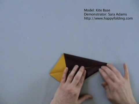Kite Base: Instructions   Happy Folding