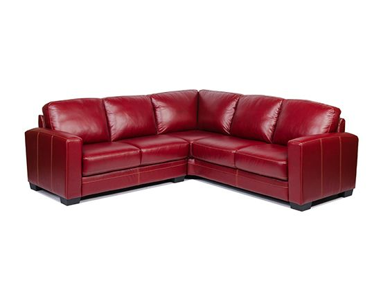 pavia leather sectional home decor ideas pinterest stitching