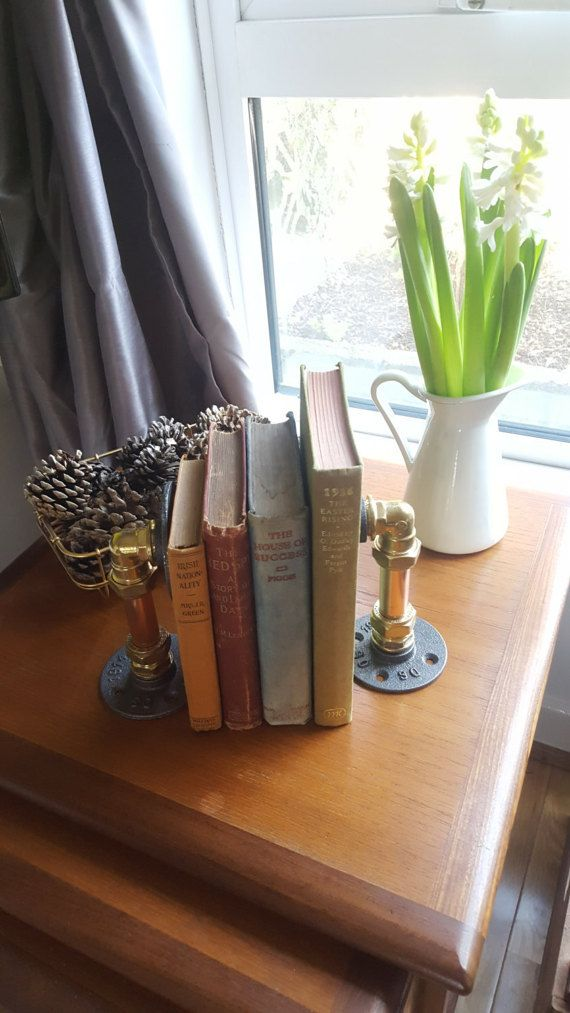 Hey, I found this really awesome Etsy listing at https://www.etsy.com/ie/listing/514066561/industrial-book-end-holders