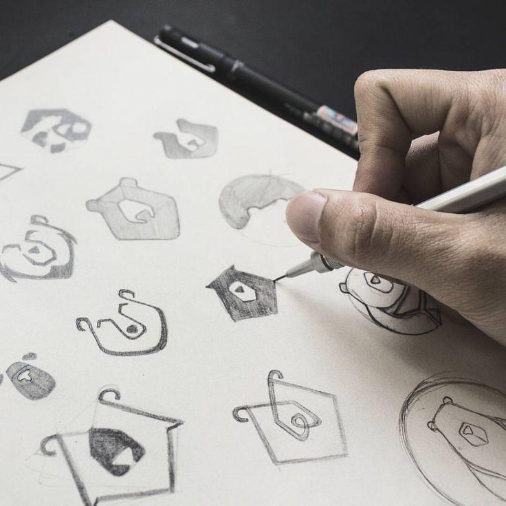 "1,034 Likes, 11 Comments - Branding & Design Agency (@bratus_agency) on Instagram: ""Bear logo sketch  #bratusagency #bratus #logoinspirations #logosai #logolearn #logotype #logodesign…"""