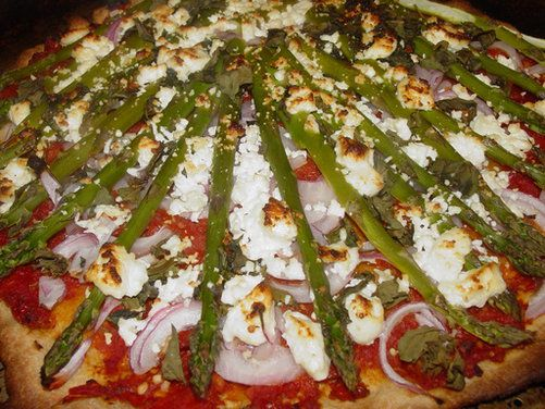 ... recipes - pizza on Pinterest | Pizza, Goat cheese pizza and Kale pizza
