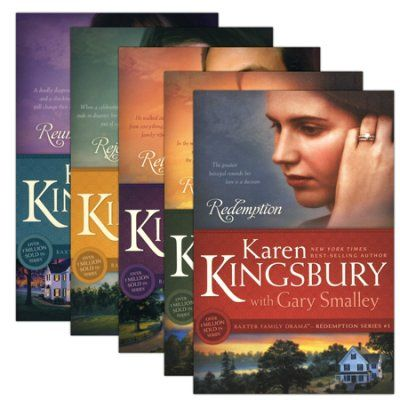 5 Vol. Redemption Series by Karen Kingsbury