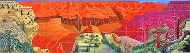 Hockney A Bigger Grand Canyon