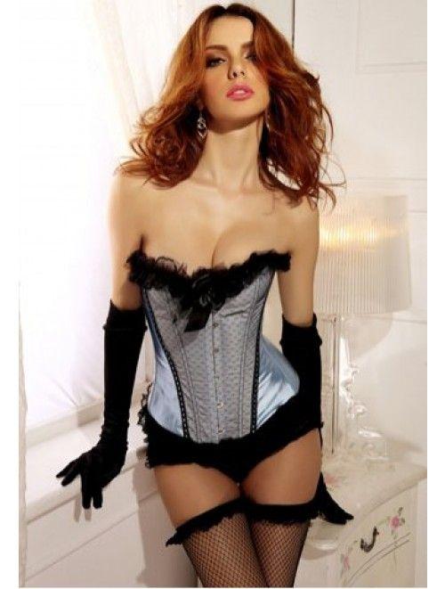 Burlesque Bows Strapless Corset a webshopunkban! Ha ma rendelsz, ingyen kiszallitjuk neked! #divat If you order today, we give you free delivery! #fashion #deal #offer http://j.mp/burlesque-bows-strapless-corset