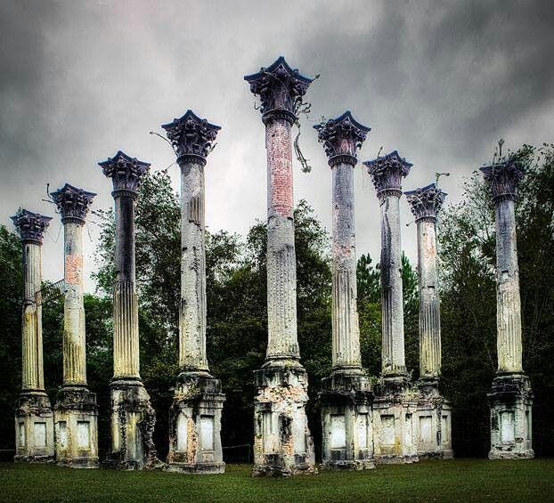 Windsor ruins, near Port Gibson, Mississippi