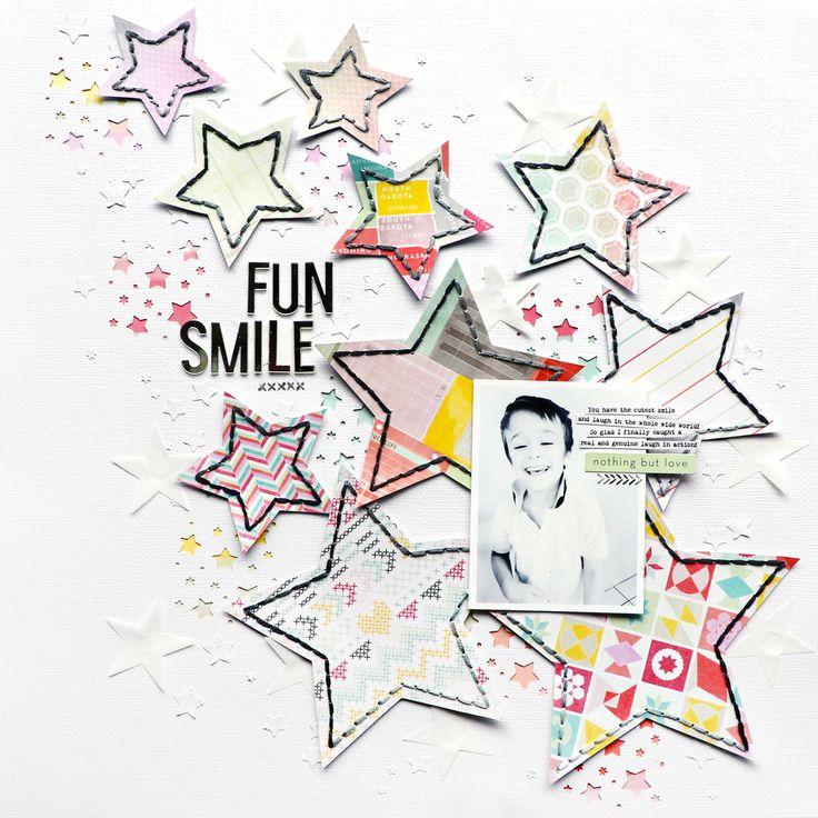 Fun Smile Layout