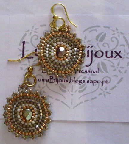 Miyuki earrings