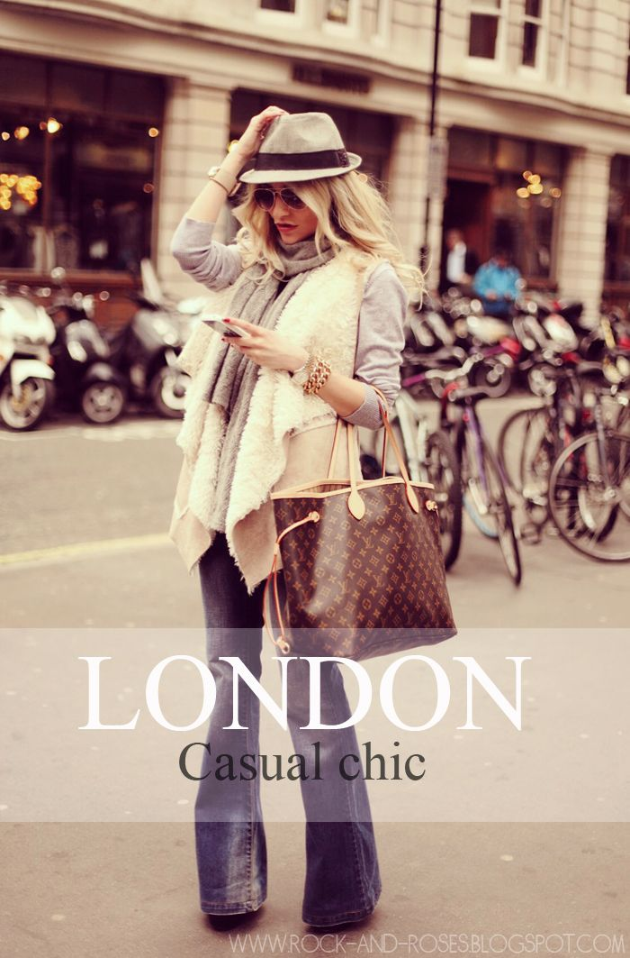 Rock & Roses: London casual-chic