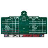 Found it at Wayfair - MLB Chicago Cubs Wrigley Score Graphic Art Plaque