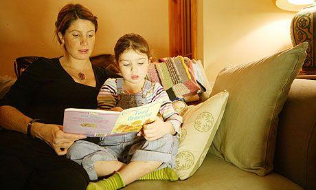 Ten tips to make bedtime reading fun - via The Guardian