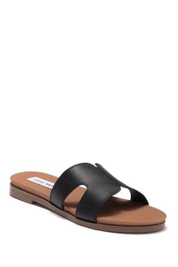 facc24177a2 Hoku Leather Slide Sandal by Steve Madden on  nordstrom rack