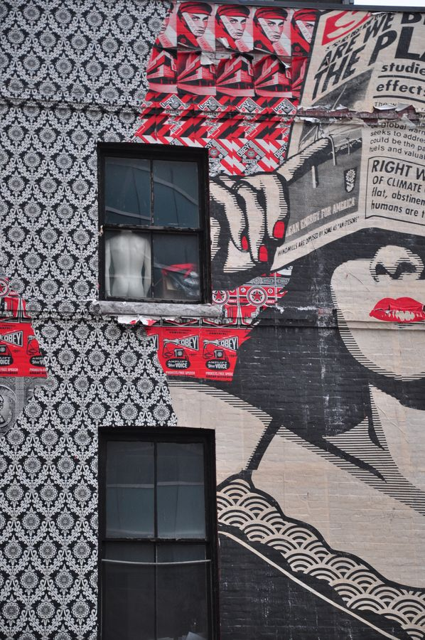 Street Art in Ottawa, Canada, by OBEY.