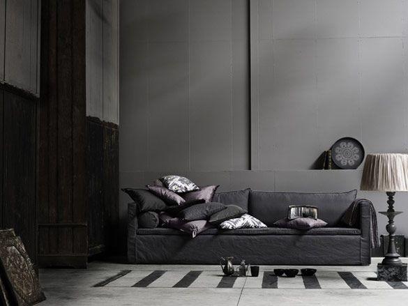 Tine K Home A/W2012: Interior Design, Sofa, Living Rooms, Idea, Livingroom, Grey, You, Homes