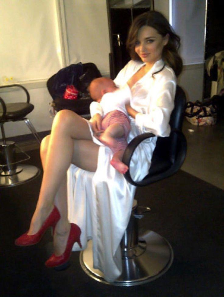 miranda kerr breastfeeding her baby | celebrity moms who nurse | super model…